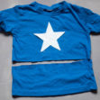 DIY Captain America T-shirt Freezer