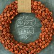 DIY: Pumpkin Wreath